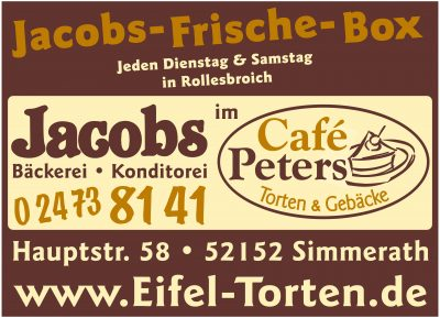 Cafe Peters, Inhaber Lars Jacobs