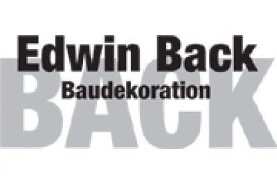 Baudekoration Back